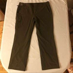 NWT-EB Loden Polar Fleece-Lined Pants 18W